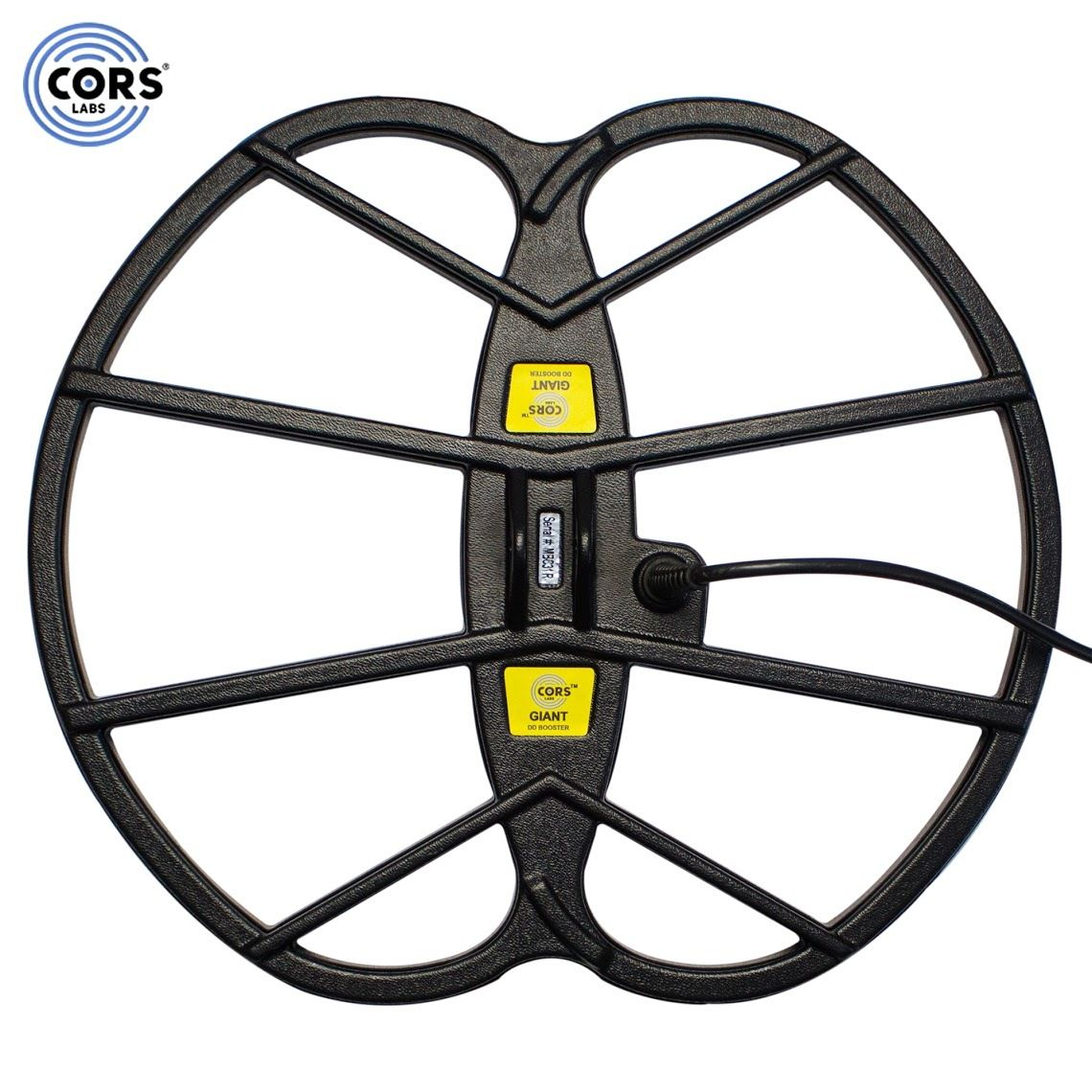 """CORS Giant 15""""x17"""" DD Search Coil for Tesoro Delta Series Metal Detector"""